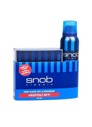 Snob Snob Clasic Bay Kofre 100 Ml+150 Ml Renksiz